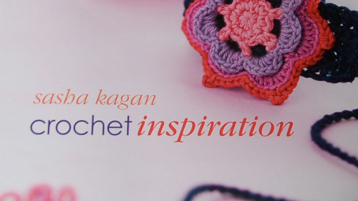 Crochet Inspiration Book by Sasha Kagan