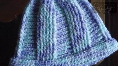 Crochet Lace Fans Shawl + Tutorial | The Crochet Crowd