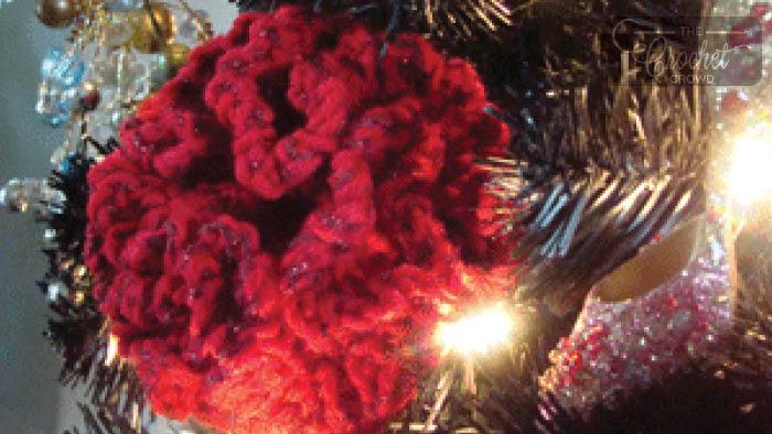 Crochet Bee Happy Flowers