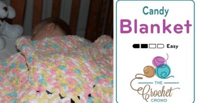 Candy Crochet Blanket