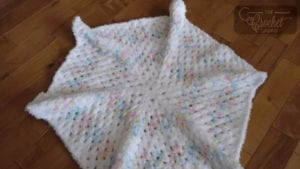 Crochet Coconut Baby Afghan