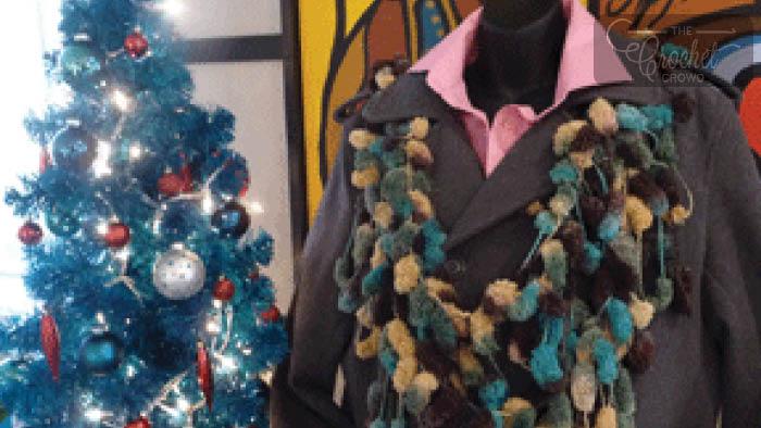 Crochet Slip N Go Scarf