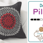 Crochet Doily Pillow Motif + Tutorial