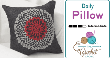 Crochet Doily Pillow Pattern