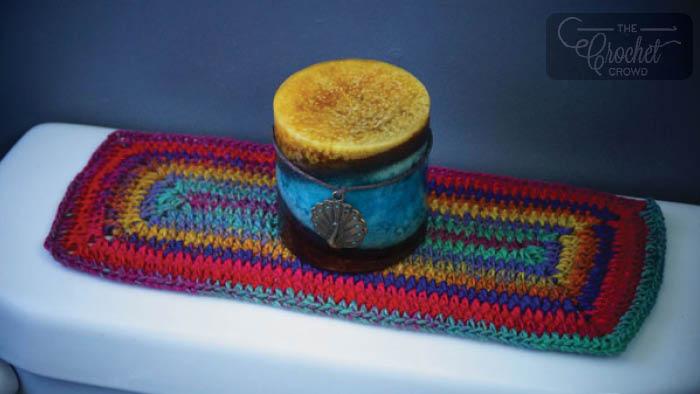 Crochet Toilet Tank Topper