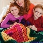 Bright Squares Art Throw