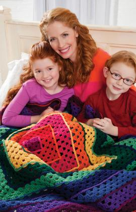 Crochet Pattern, Granny Squares