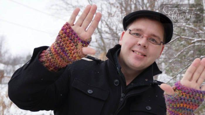 Crochet Stretchy Gloves