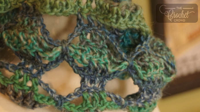 Crochet Butterfly Scarf
