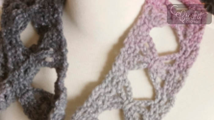 Crochet Butterfly Stitch Scarf Pattern