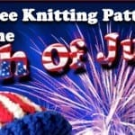 4th of July Free Knitting eBook