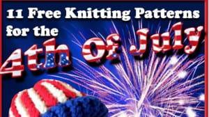 4th of July Free Knitting Pattern eBook
