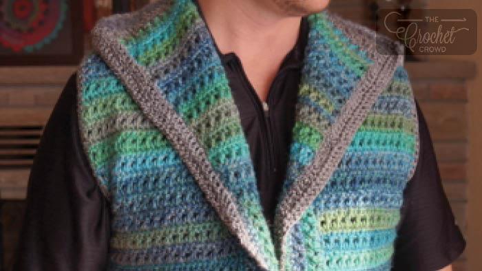 Mikey's Crochet Vest