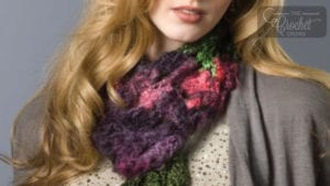 Crochet Spectrum Scarf