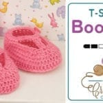 Fairy Tale Princess Baby Booties + Tutorial