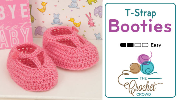 Fairy Tale Princess Baby Booties Pattern