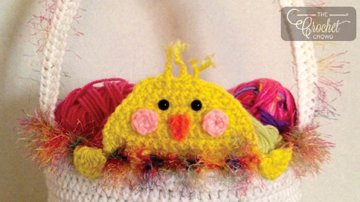 Peek A Boo Easter Chick Basket Pattern