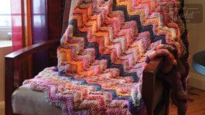 Crochet Treasure Wave Afghan