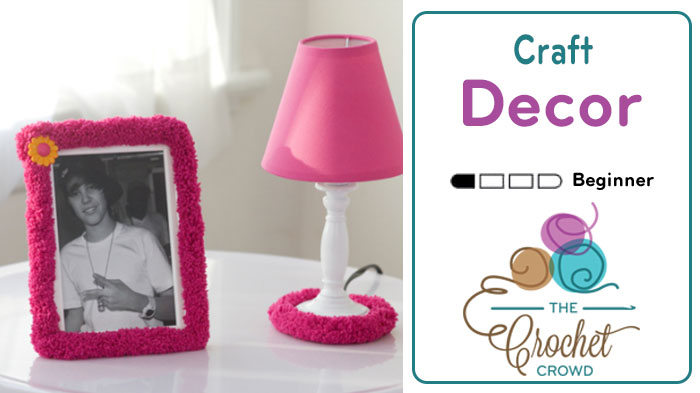 Craft Decor Ideas for Lamps and Picture Frames