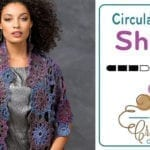 Crochet Amazing Circular Shawl + Tutorial