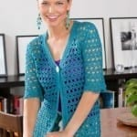 Warm Weather Crochet Jacket Pattern