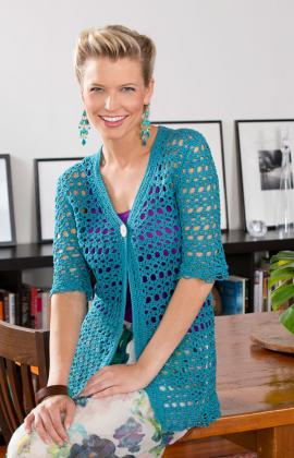 Crochet Warm Weather Jacket