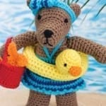 Beach Bear Rita Crochet Pattern