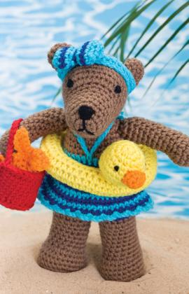 Free Pattern, Rita the Bear