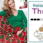 Crochet Holiday Balls Throw + Tutorial