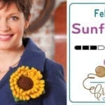 Crochet Sunflower + Tutorial