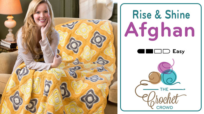 Rise & Shine Crochet Afghan Pattern