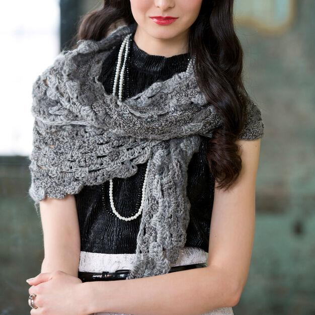 Crochet A Shades of Grey Scarf Pattern