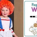 Crochet Easy Rag Doll Wig for Halloween + Tutorial