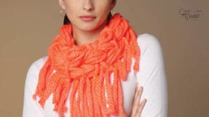 Wrap and Knot Craft Cowl