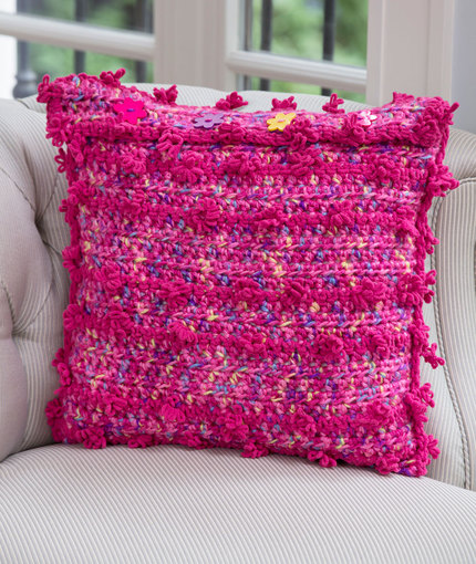 Posh Pillow Crochet Pattern