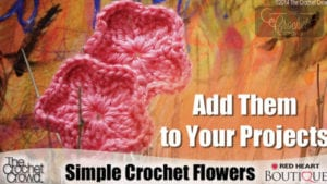 Crochet Simple Flowers