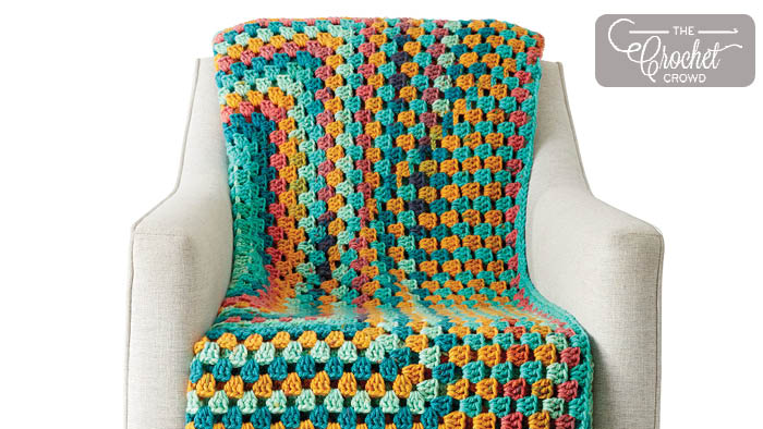 Rectangle Granny Afghans: All Sizes | The Crochet Crowd