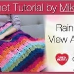 Rainbow View Throw Crochet Pattern