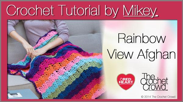 Crochet Rainbow Afghan Pattern