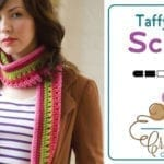Crochet Taffy Pull Scarf + Tutorial