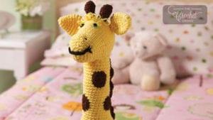 Crochet Toy Giraffe