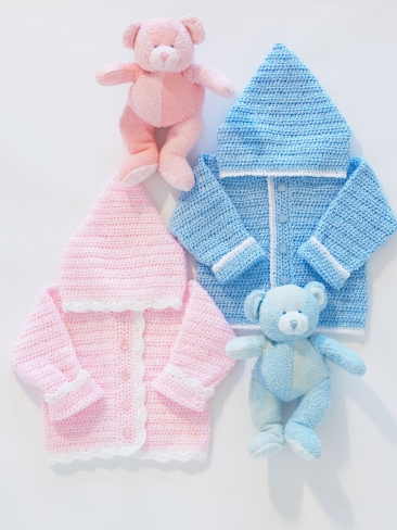 Easy Sweet Baby Hoodies The Crochet Crowd