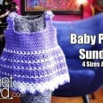 Baby Peapod Sundress + Video Tutorial