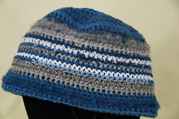 Striped 1 3 Year Old Crochet Beanie Hat The Crochet Crowd