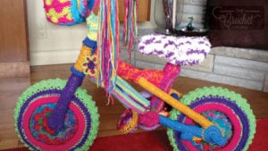 Crochet Yarn Bike