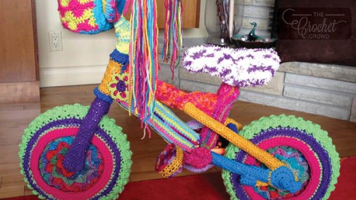 Crochet Yarn Bike