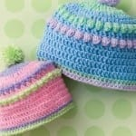 Crochet Baby Bobble Hats