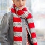 My Team Forever Scarf Crochet Pattern