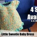 Gumdrop Baby Dress + Video Tutorial