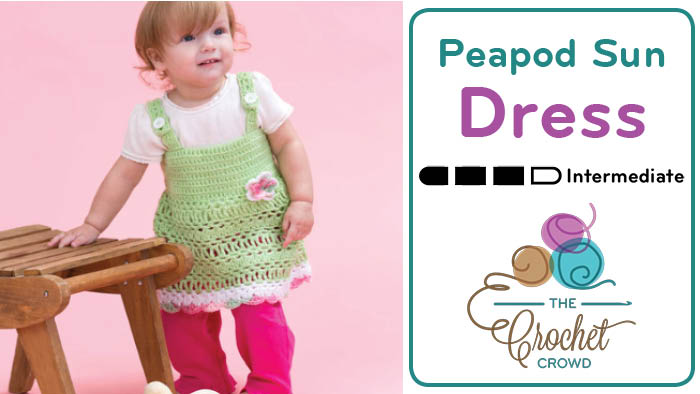 Baby Peapod Sundress Crochet Pattern